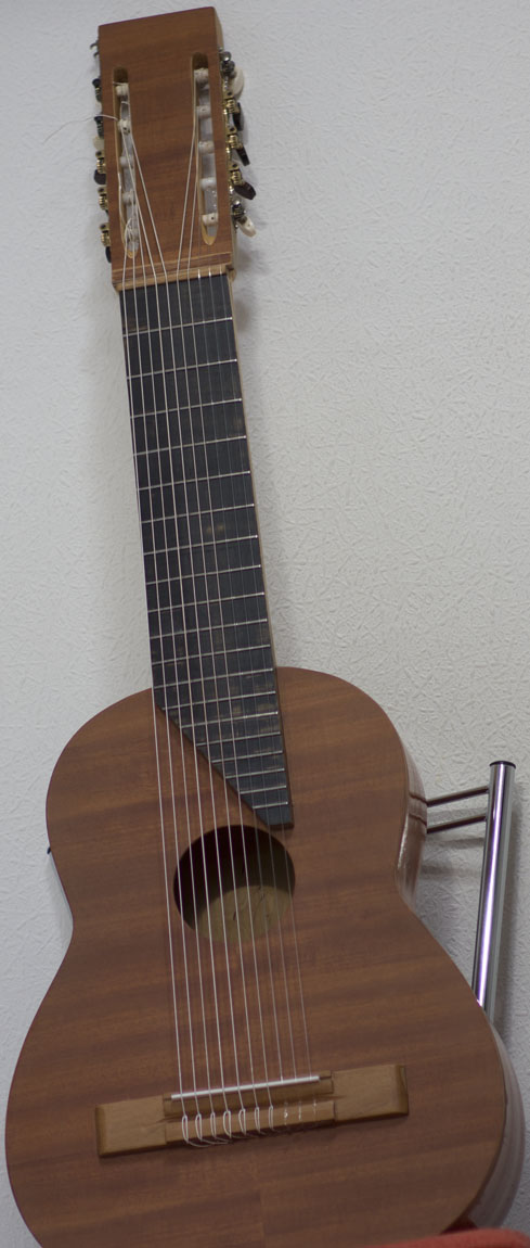 prototype 10-string classical guitar